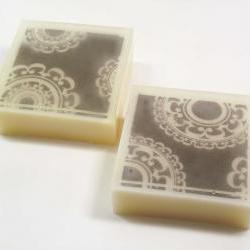 Antique Sandalwood Scented Goat's Milk and Glycerin Soap- White Doilies